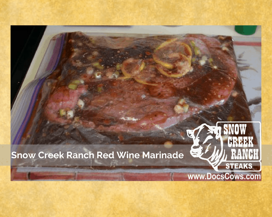 Red Wine Marinade