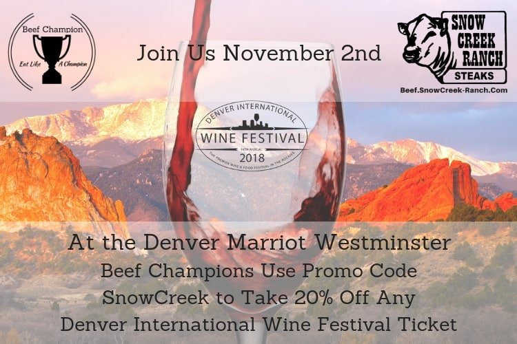 Join Us at the Denver International Wine Fest!